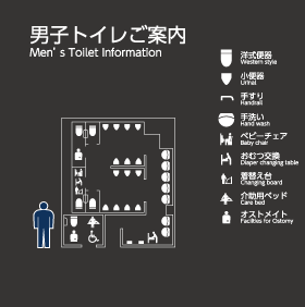 C Groundstand 1F mens toilet