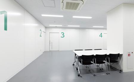 ドーピングコントロール室の写真